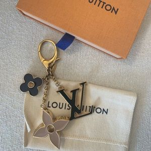 Authentic Louis Vuitton Bag Charm